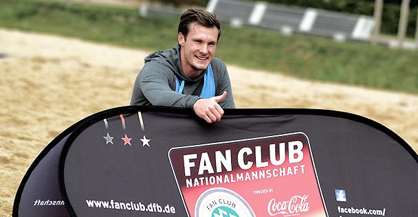 Beachsoccer-Turnier des Fan Club Nationalmannschaft powered by Coca-Cola