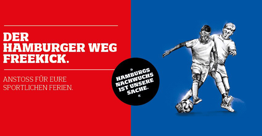 Der Hamburger Weg Freekick