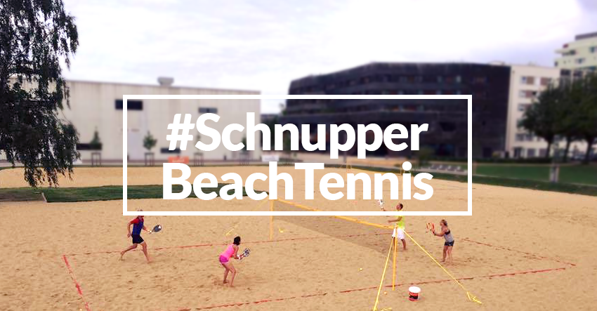 Schnuppertag BeachTennis