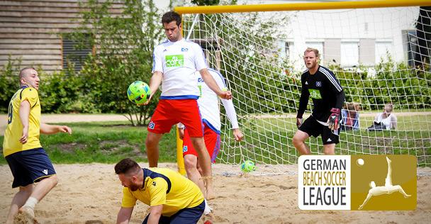 German Beachsoccer League bei hansebeach
